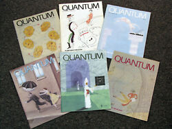 Quantum Magazine - Nsta - All 66 Issues - Math And Science For Students And Teachers