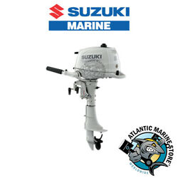 Suzuki Df6a Four Stroke Portable Outboard Marine Engine