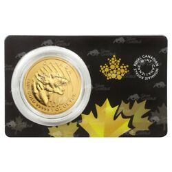 1 Oz 2015 Call Of The Wild Series   Growling Cougar Gold Coin