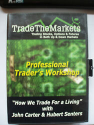 Trade The Markets -4 Days Workshop + Mastering The Trade Book By John Carter