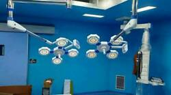 Examination Light 84+84 Operation Theater Surgical Light Or Lamp Ceiling Twin