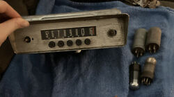 Vintage By Bendix Car Radio Tube With Extra Tube Mallory Replacement Vibrator