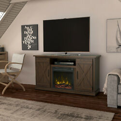 Fireplace Tv Stand For Tvs Up To 55 Entertainment Center Storage Media Console