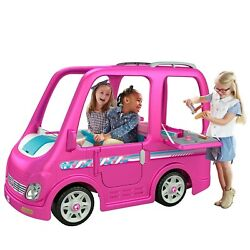 Power Wheels Barbie Dream Camper, Battery-powered Ride-on Vehicle New In Box.