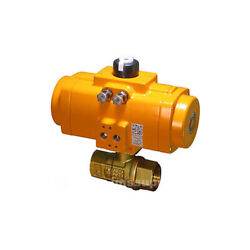 Assured Automation G250lfnf8so Lead Free Brass 2-way Ball Valve Mfgd