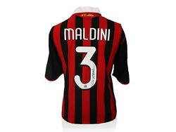 Paolo Madini Signed Jersey From Milan Ac Last Game Edition