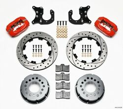 Brake System - Dynalite - Rear - 4 Piston Caliper - 12.000 In Drilled / Slotted