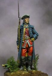 Tin Toy Soldier 54mm Superb Elite Painting In St.petersburg.english Officer 1746