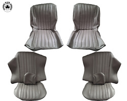 Seat Covers Fits For Bmw E9 2800 Cs Year 1968 -1971 Grey