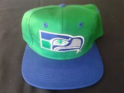 Seattle Seahawks Vintage Game Day Snapback Cap Hat - Nwt