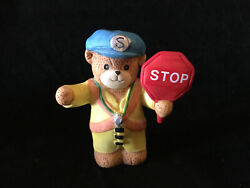 Lucy And Me School Crossing Guard Bear Lucy Rigg Enesco 1989