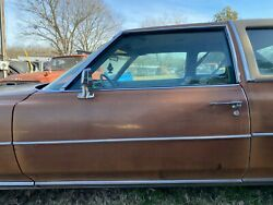 1975 1976 Cadillac Coupe Deville Driver Door Drivers Side Complete