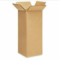 100 4x4x12 Cardboard Paper Boxes Mailing Packing Shipping Box Corrugated Carton