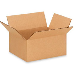 100 7x5x3 Cardboard Paper Boxes Mailing Packing Shipping Box Corrugated Carton