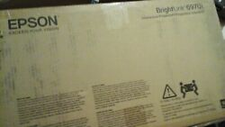 New Epson Brightlink 697ui 3lcd Ultra Short Throe Interactive Projector