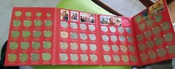 Collection Coins Russia Ussr In Album 135 Roubles 68 Coins.1965-1991 Original
