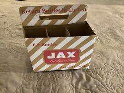 Jax Beer 6 Pack Carton Antique New Orleans