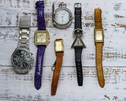 6 Watches Fossil and more $75.00