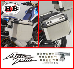 Genuine Honda Oem Left And Right Pannier Case Aluminum For 2020 2021 Africa Twin