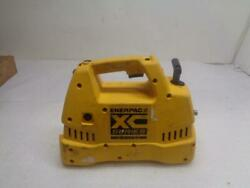 Used Enerpac Battery Operated Hydraulic Pump With On/off Trigger Xc1202m R18