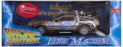 And039and039back To The Futureand039and039 Cast-signed Delorean Celeb A Coaand039s