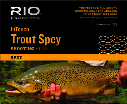 Rio Intouch Trout Spey Shooting Head 22and039/6.7m Floating 1 190gr 2 230gr