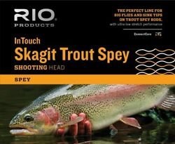 Rio Intouch Skagit Trout Spey Shooting Head Floating 175-350gr 4.1m-5.2m