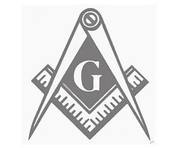 Masonic Tail Light Decals - 1...5...or 10 Sets Of 2 - For Most Vehicles - New