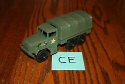 Timmee Processed Plastic 2.5-ton Army Truck And Tarp Ce - Marx, Mpc