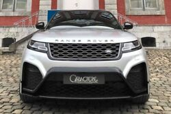 Caractere Exclusive 2017+ Range Rover Velar Front Bumper Set Included Options