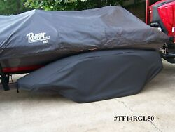 Ranger And039land039 Series- Blkboat Trailer Fender/tire-17 Strg Cover Exact Fit Tandem