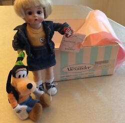 Madame Alexander 39565 Wendy Loves Goofy And Pluto 8 Doll And Disney Plush