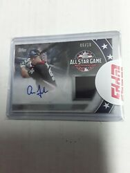 Aaron Judge 2018 Topps Update All-star Stitches Jersey Auto 6/10 Autograph Relic