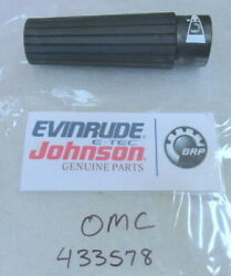 P25a Johnson Evinrude Omc 433578 Grip Assembly Oem New Factory Boat Parts