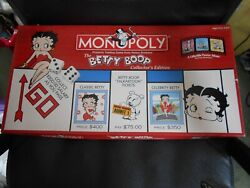 Monopoly The Betty Boop Collector's Edition 2012 Complete Uk Seller Only Used 2