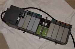 Allen-bradley 1746-a10 Slot Rack W/1746-p4 Ser A Power Supply And Modules And Key