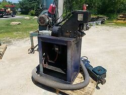 Pace Machinery Group Model 1021 Roll Groover On Stand