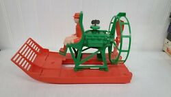 1966 Ideal Toy Corp Wind Up Air Boat