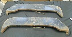 Vintage Car Lh Rh Fender Skirts Ford Chevy Dodge Plymouth
