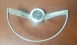 1965 Ford Fairlane Steering Wheel Horn Ring Button C50a-13a800