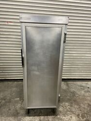 Enclosed Full Sheet Pan Cookie Tray Cabinet Epco 94-167-100 On Wheels 5190 Nsf