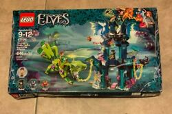 Lego Elves Nocturaand039s Tower Earth Fox Rescue 41194 646 Pcs Set New Factory Sealed
