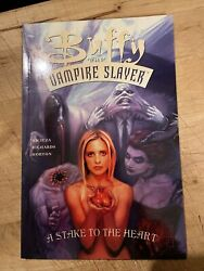 Buffy The Vampire Slayer A Stake To The Heart Tpb Dark Horse Unread Perfect
