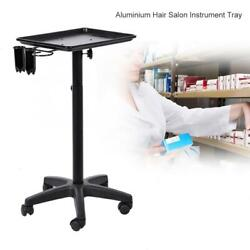Beauty Rolling Trolley Cart Equipment Mobile Salon Spa Service Instrument Tray
