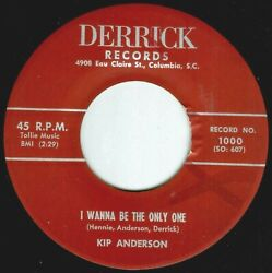 Kip Anderson Sc The Home Fires Are Brighter After All I Wanna Be Only One Vg+