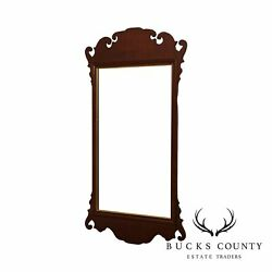 Friedman Brothers Mahogany Chippendale Style Wall Mirror