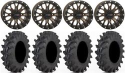 System 3 St-3 Bronze 14 Wheels 32 Outback Max Tires Can-am Commander Maverick