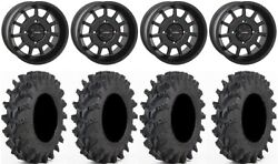 System 3 St-5 Black 14 Wheels 32 Outback Max Tires Can-am Maverick X3