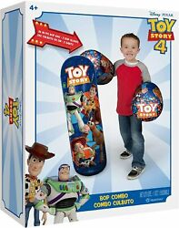 Hedstrom Toy Story 4 36 Bop Bag And Gloves Combo Exercise Play Fun Coordination