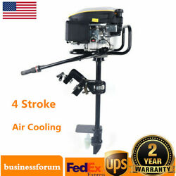 9.0hp 4 Stroke Outboard Motor Engine Fishing Boat Engine Air Cooling System Usa